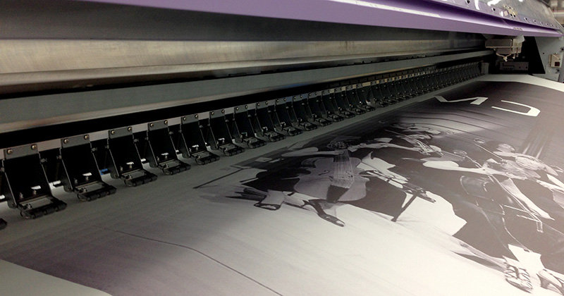 ADI mimaki JV5 print on 3 meters wide dye sublimation transfer paper