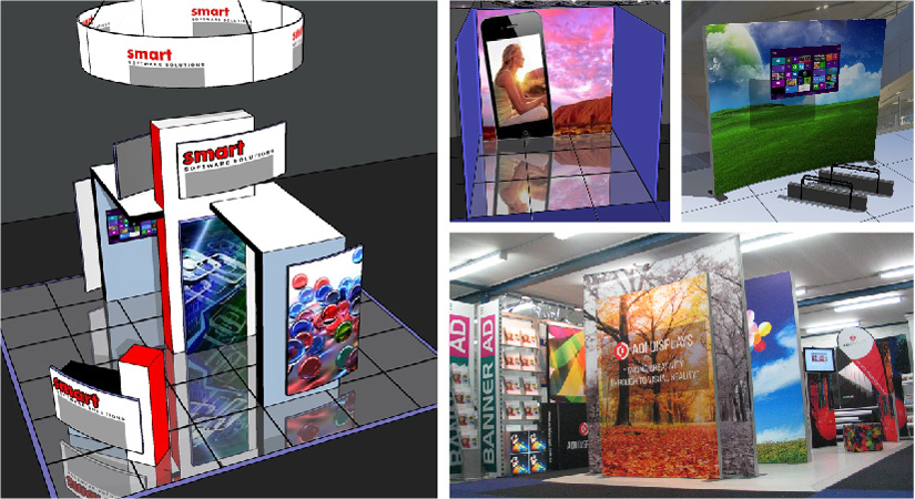 Exhibits Exhibition Conference Stand Design Portable Display