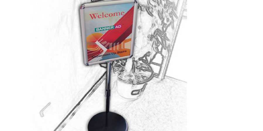 Poster Displays Portable Displays Floor Stand