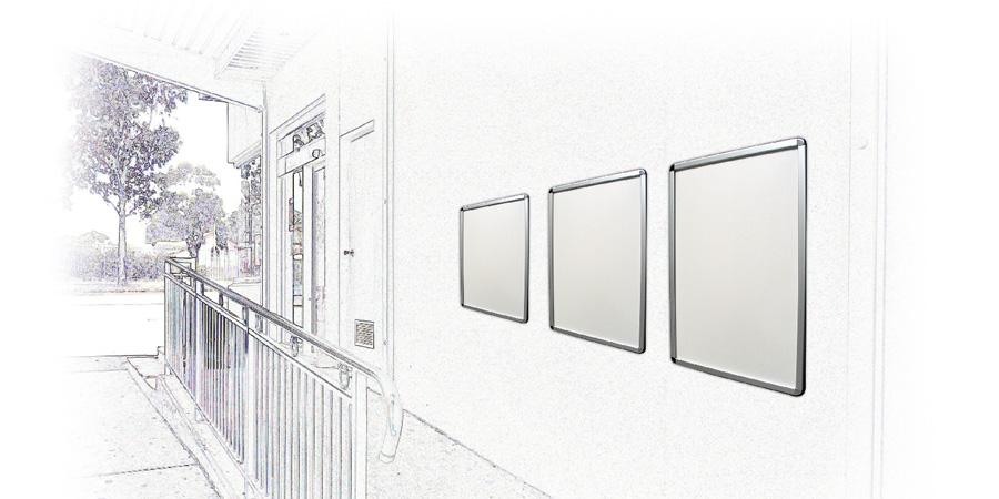 Poster Displays Portable Displays Snap Frame