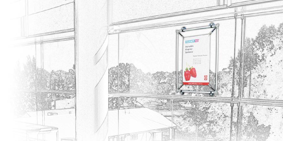 Poster Displays Portable Displays Tension Frame