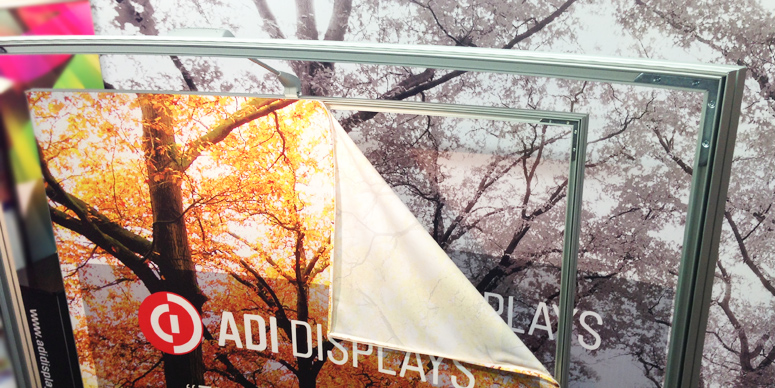 TexFrame Fabric Portable Displays