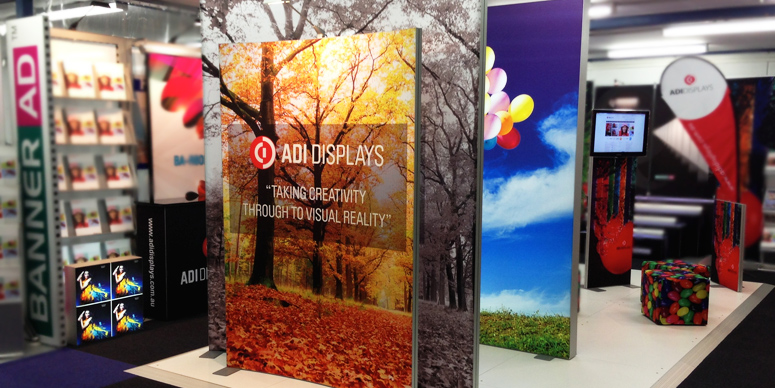 TexFrame Fabric Exhibition Displays Portable