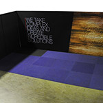 Fabric Straight Corner Exhibition Booth 6x3