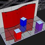 60x60x100cm TexFrame Cube
