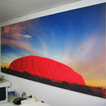 grand format fabric wall murals